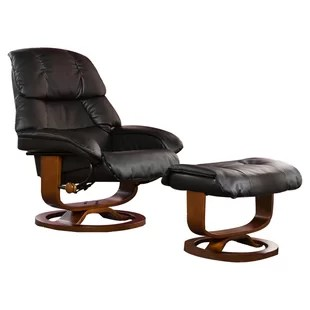 recliner chair with ottoman manufacturers speakers modern recliners find the perfect allmodern easter standard manual swivel