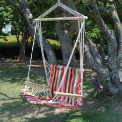 Tree Hanging Hammock Chair Backpack Cooler Target Adecotrading Naval Cotton Fabric Canvas