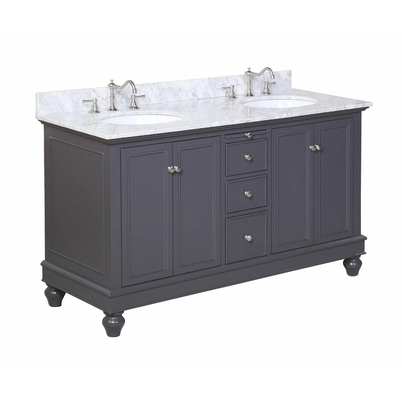 KBC Bella 60 Double Bathroom Vanity Set  Reviews  Wayfair