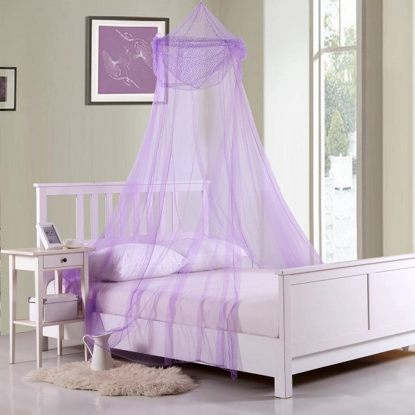 Sheer Bed Canopy for Girls