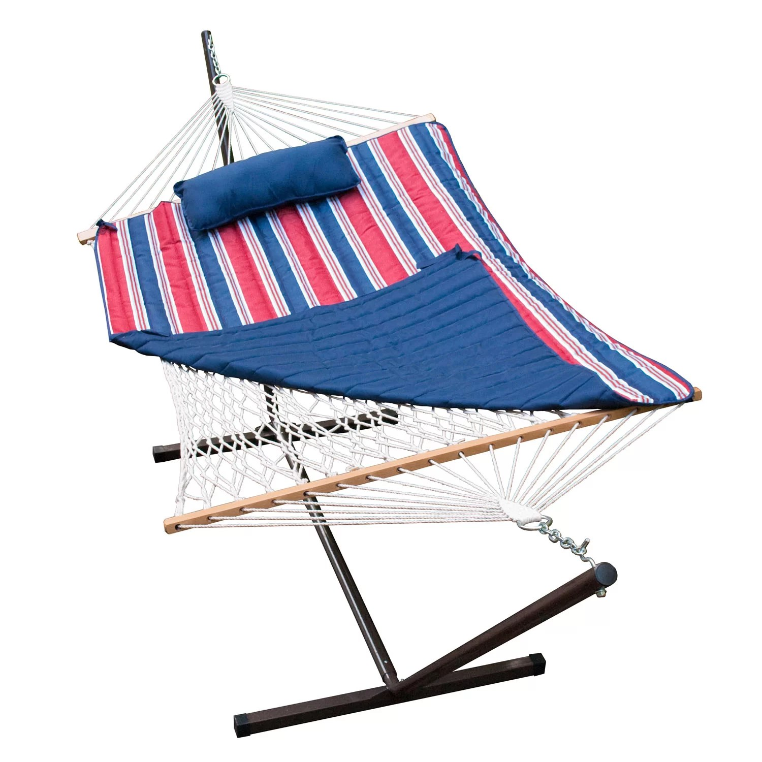 rope chair target how to reupholster a wing algoma net company 4 piece cotton hammock with stand