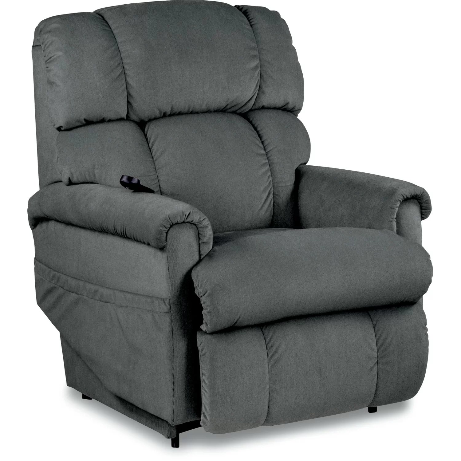 lazy boy lift chairs leather hanging chair swing la z pinnacle luxury power recliner and reviews