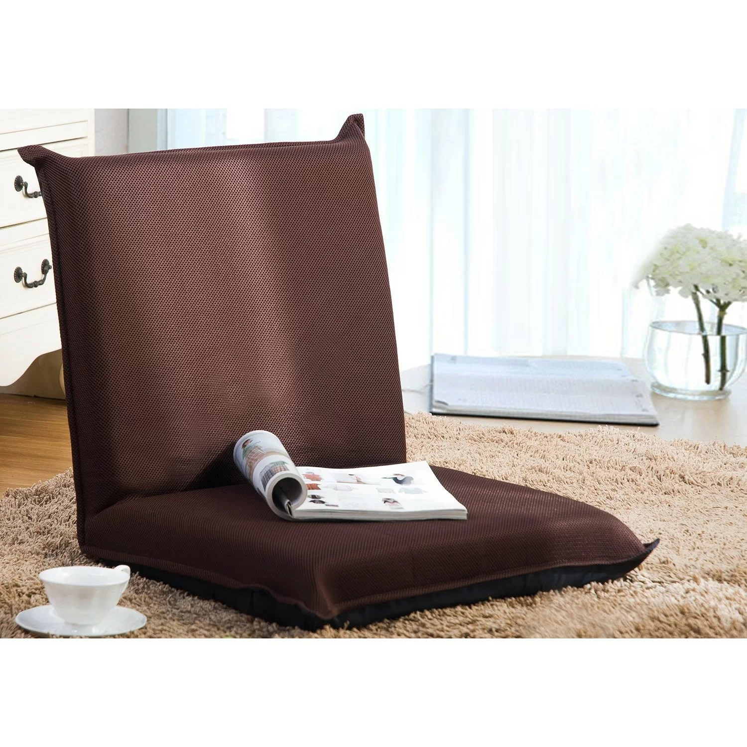 Merax MultiFunction Folding Cushion Floor Chair  Reviews  Wayfair