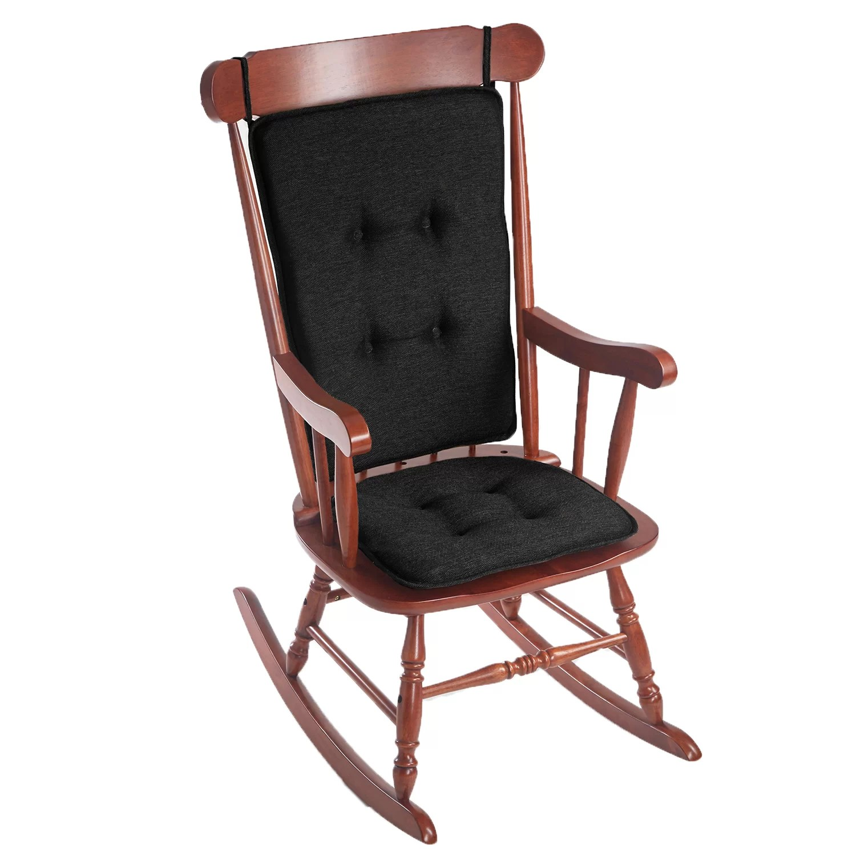 rocking chair cushion set canada slipper klear vu embrace 2 piece gripper