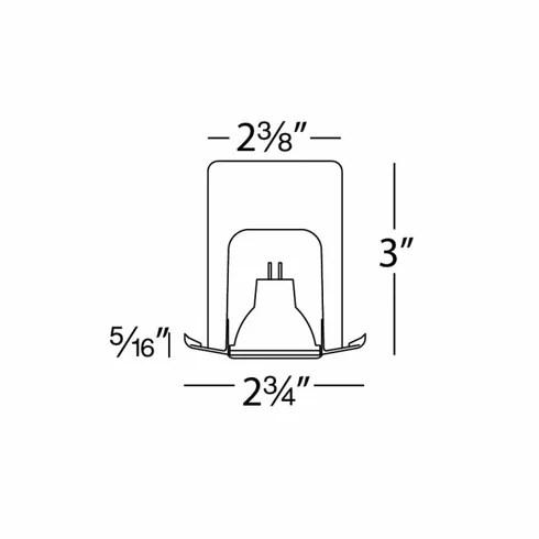 WAC Lighting Low Voltage Adjustable Miniature 2.38