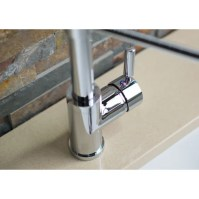 Hahn Deck Mounted Single Handle Pull Down/Pull Out Kitchen ...