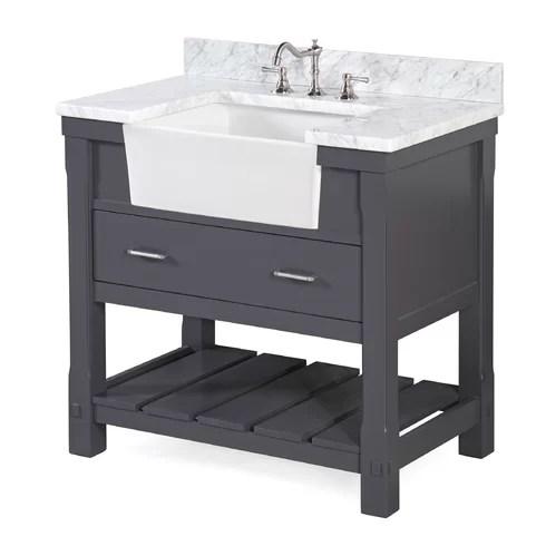 KBC Charlotte 36 Single Bathroom Vanity Set  Reviews  Wayfair