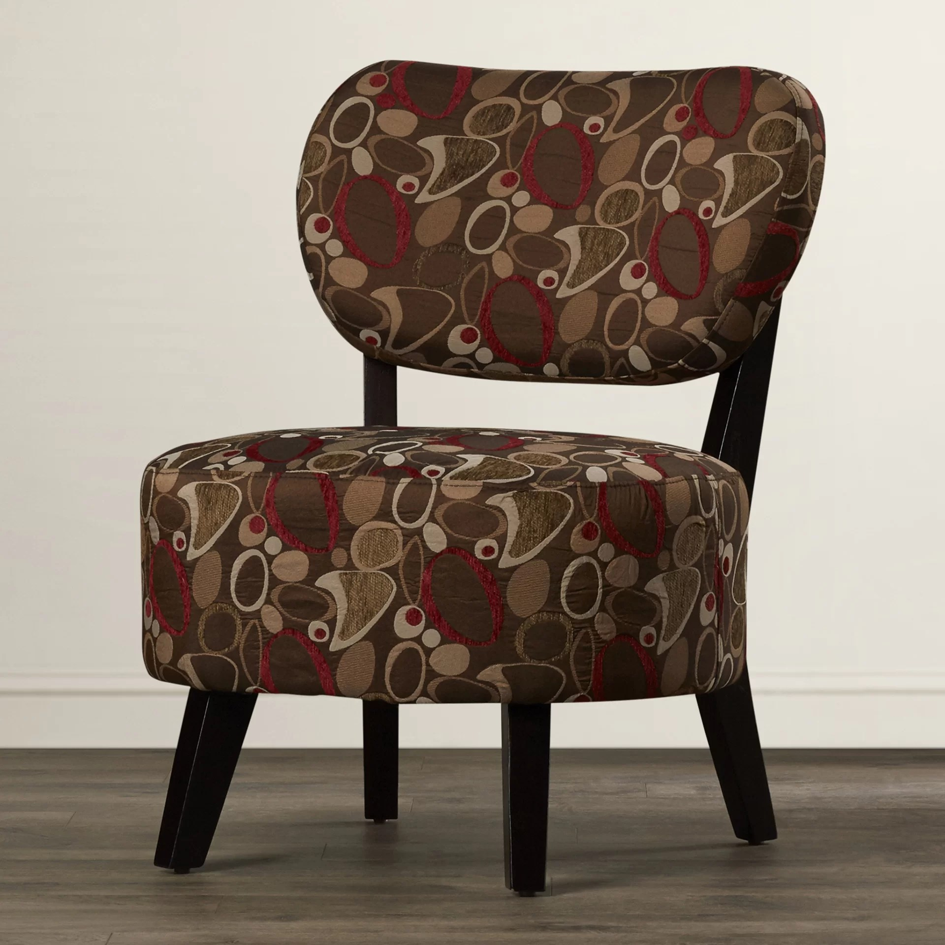 brown slipper chair outdoor accessories ebern designs dejean reviews wayfair