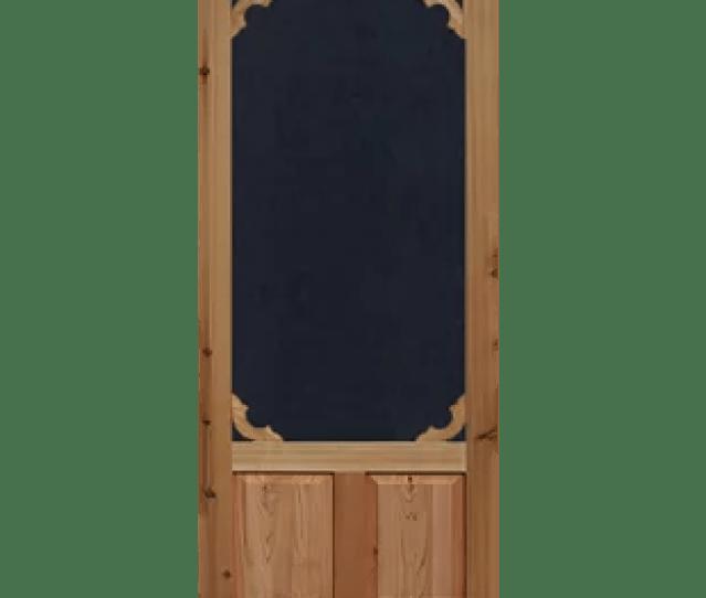 Cedar Solid Wood  Panel Interior Door