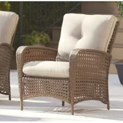 Patio Chairs For Cheap Seat Cushions Dining Room Outdoor Club You Ll Love Wayfair Edwards Chair With Cushion Set Of 2