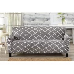 How Much Fabric To Make A Sofa Cover Red Bed Canada Slipcovers You Ll Love Wayfair Quickview