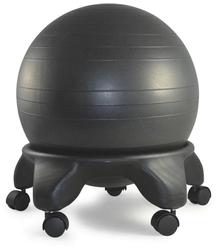 SierraComfort Exercise Ball Chair  Reviews  Wayfair