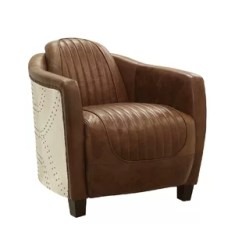 Leather Chair Modern Bariatric Office Chairs Australia Accent Allmodern Annessia Barrel