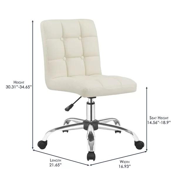 desk chair high knoll chadwick task orren ellis manya back reviews wayfair