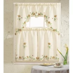 Kitchen Curtain Sets Shoes 3 Piece Wayfair Quickview