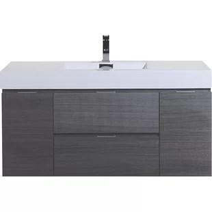 Dark Bathroom Cabinets All Wood Bathroom Cabinets