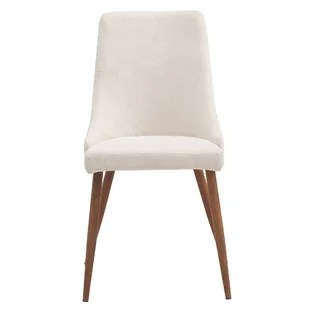 gray upholstered dining chairs gym chair as seen on tv joss main quickview beige