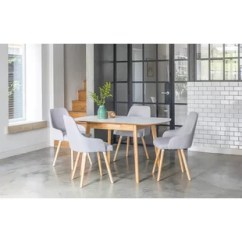 Chairs For Kitchen Table Pantry Closet Small And Wayfair Co Uk Faldo Extendable Dining Set With 4