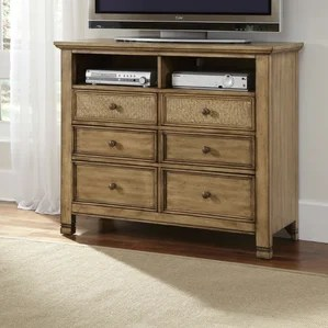 modern & contemporary bedroom media chests you'll love | wayfair