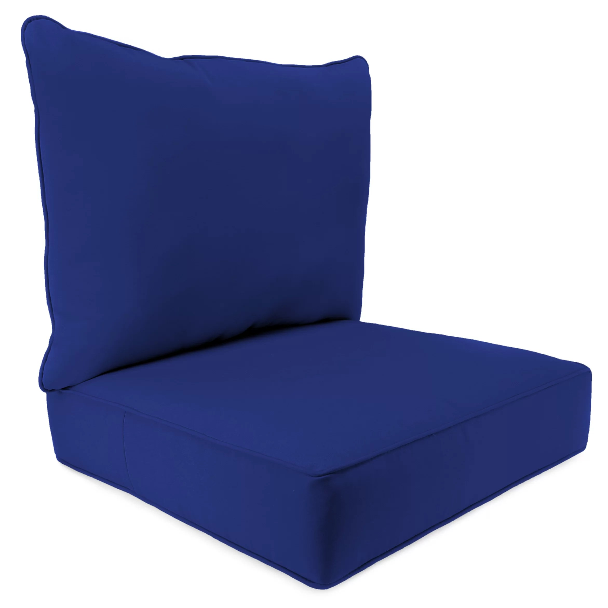 indoor outdoor chairs folding chair holder 2 piece cushion set reviews joss main