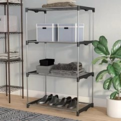 Kitchen Shelf Unit 8 Inch Knife Find Shelving For Your Wayfair 4 Tier 54 H X 31 5 W 19 D