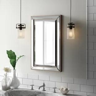 Bathroom Mirrors Youll Love  Wayfair