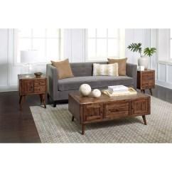 3 Piece Table Set For Living Room Simple Tv Unit Designs India Union Rustic Ashland Modern Coffee Reviews Wayfair