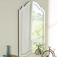 Ekaterina Arch/Crowned Top Wall Mirror & Reviews | Birch Lane