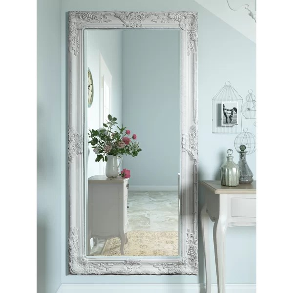 Agreeable Custom Wall Media Centers Mounted Full Murals Decals Lily Manor Triste Full Length Mirror & Reviews | Wayfair.co.uk