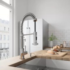Pull Out Kitchen Faucets Range With Downdraft Ventilation Down You Ll Love Wayfair Quickview