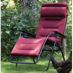Lafuma Futura Xl Zero Gravity Chair Wheelchair Measurements Wayfair Air Comfort With Cushion By