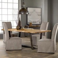 Hooker Furniture Live Edge Dining Table & Reviews