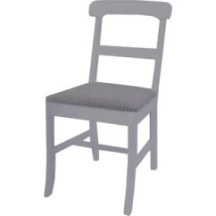 White Wooden Chair For Desk Covers Make Your Own Antique Wayfair Quickview Black