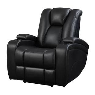 wall hugger recliner chair design shop recliners you ll love wayfair bissette power