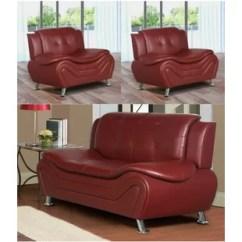 Red Living Room Furniture Sets Carpet Trends You Ll Love Wayfair Machelle 3 Piece Set