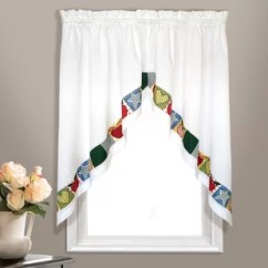 Swag Curtains For Kitchen Cutting Table Living Room Wayfair Appleton Curtain