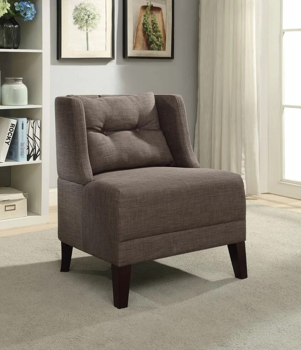 modern slipper chair red patio cushions alcott hill laurence wayfair
