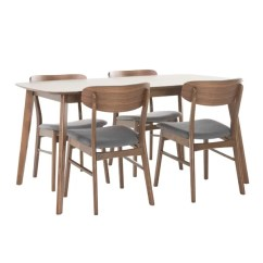 Kitchen Table And Chairs With Wheels Ikea Garden Chair Cushions Modern Contemporary Dining Room Sets Allmodern