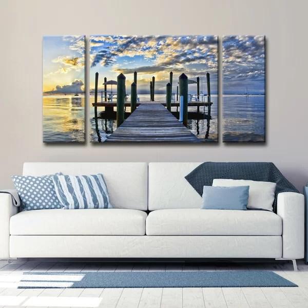 Nautical  Beach Wall Art Youll Love  Wayfair
