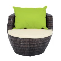 Outsunny 2 Seater Conversation Set With Cushions