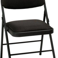 Cloth Padded Folding Chairs Chair Cover Rental Shreveport La Cosco Home And Office Xl Fabric Reviews Wayfair