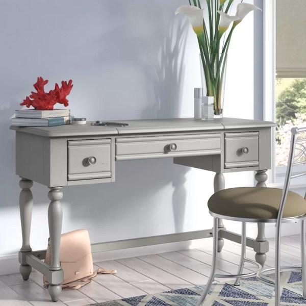 Beachcrest Home Dickens Vanity Desk &