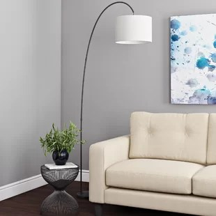 living room standing lamp how to arrange around tv floor lamps tripod wayfair co uk quickview