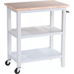 metal kitchen carts kids play sets modern islands allmodern raabe cart with wood top