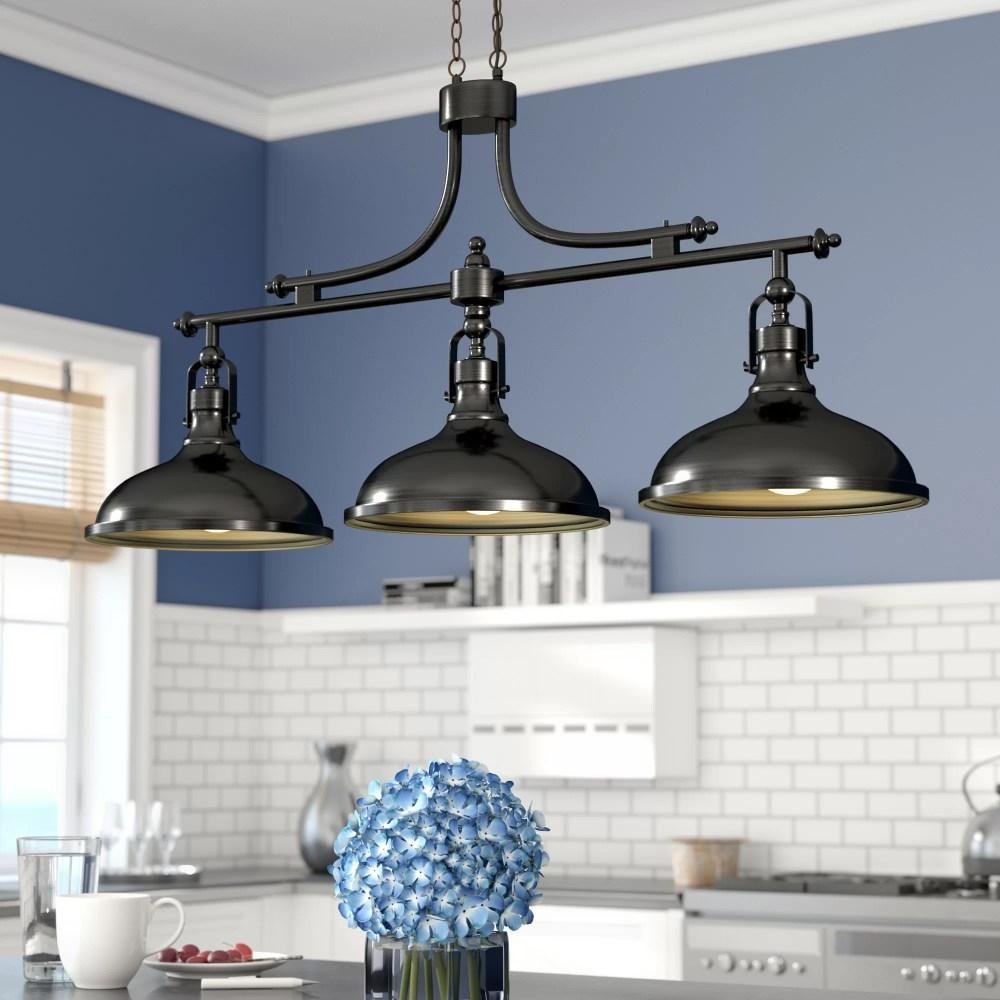 medium resolution of beachcrest home martinique 3 light kitchen island pendant reviews wayfair