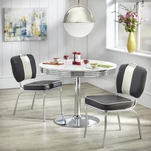retro dining room table and chairs wedding chair covers online 1950 sets wayfair quickview