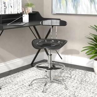 drafting table chairs beach house dining you ll love wayfair quickview
