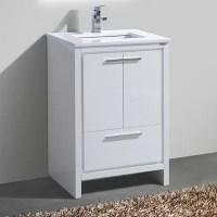 """Kube Bath 24"""" Single Modern Bathroom Vanity & Reviews ..."""