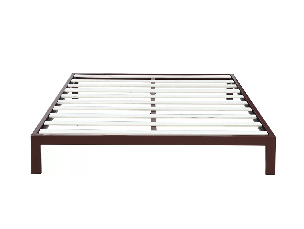 Madison Home USA Modern Metal Platform Bed Frame & Reviews