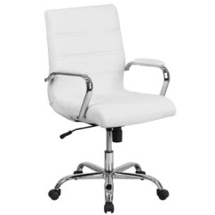 Black Leather Desk Chairs Outdoor On Sale Office You Ll Love Wayfair Quickview Chrome